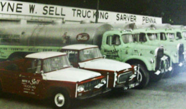Wayne W. Sell Early Trucks